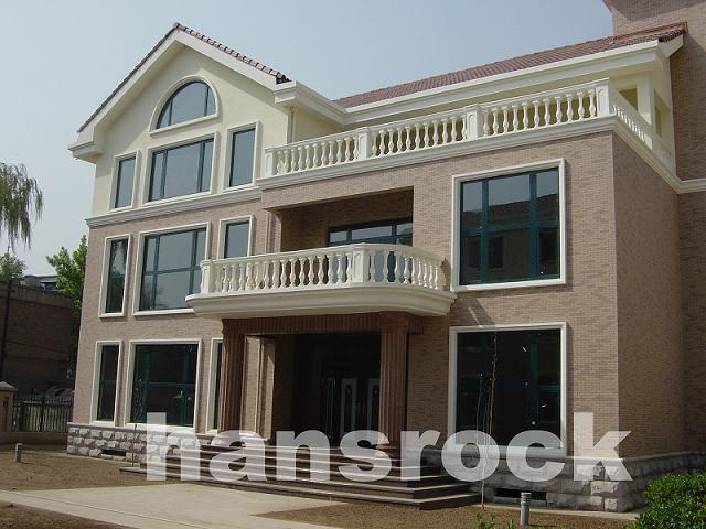 广州别墅项目案例+汉斯诺克铝木复合门窗+德国原装进口