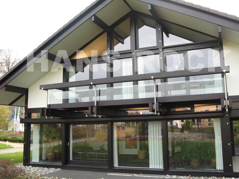 德国汉斯诺克铝木窗+德国纯进口高门大窗
