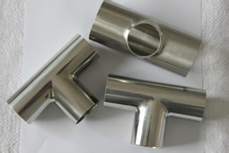 供应卫生级不锈钢焊接三通
