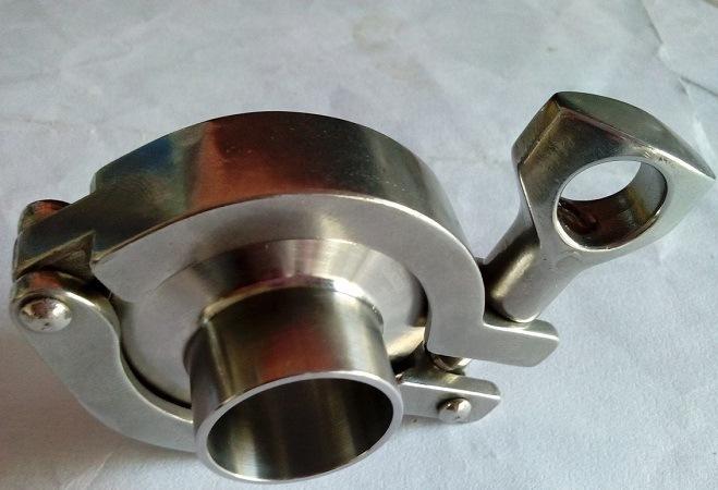供应卫生级不锈钢精铸卡箍