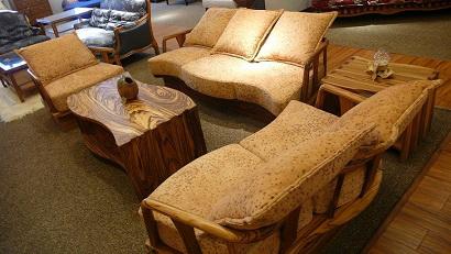 乌金大斑马沙漠地带人造皮面沙发组合