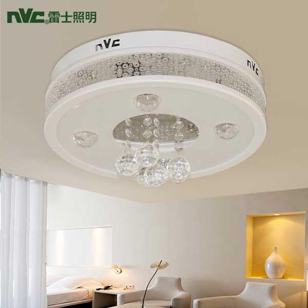 雷士照明正品吸顶灯具LED水晶餐厅卧室饰NVX82147