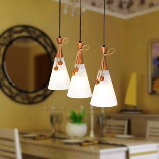 雷士照明餐厅灯三头餐厅吊灯