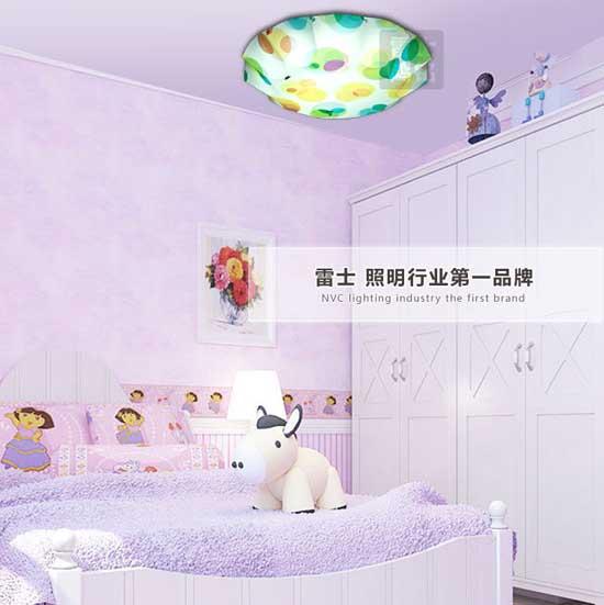 雷士照明经典儿童房灯卧室灯