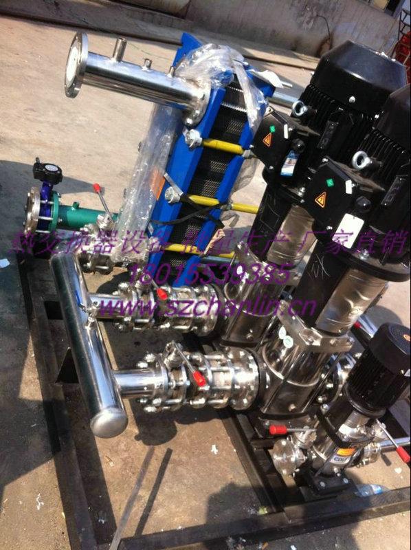 苏州高温蒸汽型板式换热机组  高温蒸汽型板式换热机组