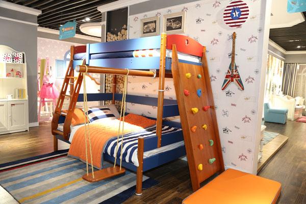 创意儿童高低床