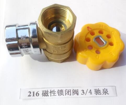 216磁性锁闭阀3/4驰泉