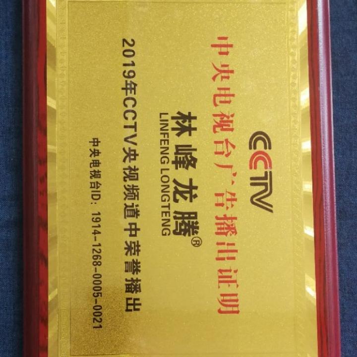 荣誉证书铜牌
