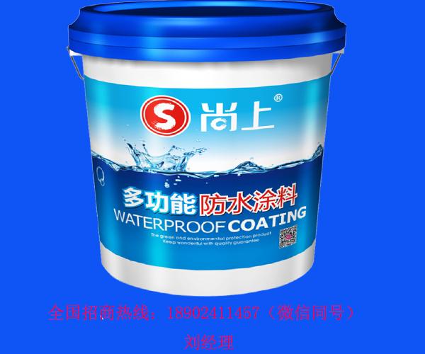 防水涂料厂家_多功能防水涂料 选中国十大品牌-尚上植物水漆
