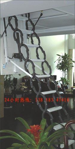 上海爱步楼梯---电动伸拉梯楼梯