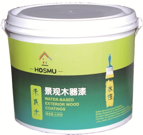 禾氏木水性景观木器漆