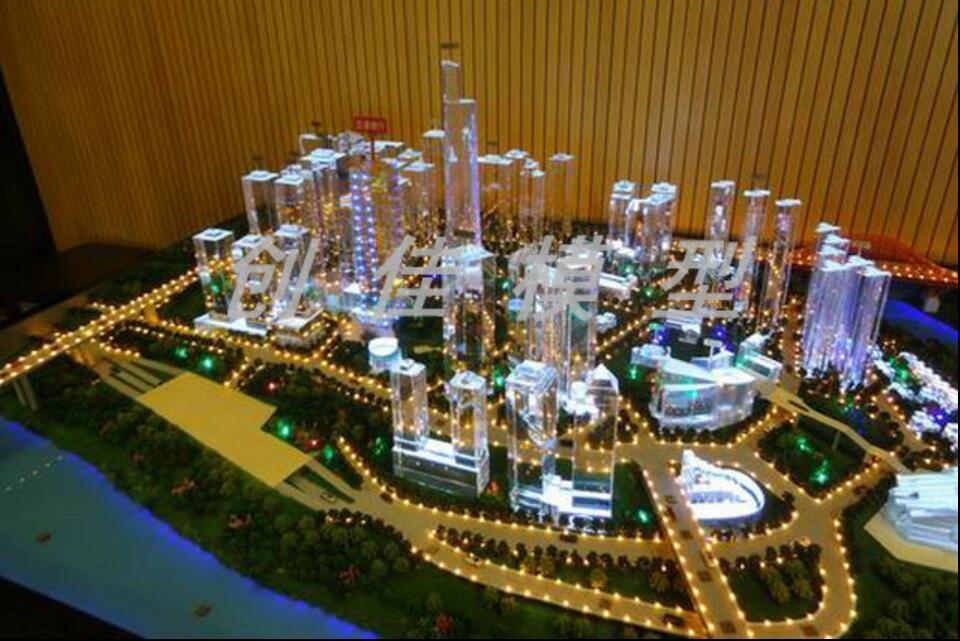 重庆建筑模型,水晶模型