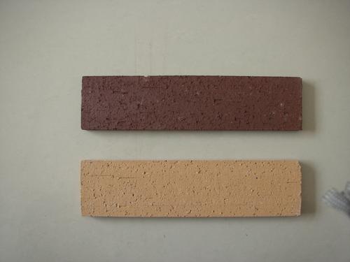 紫砂劈开砖、劈离砖、机制砖