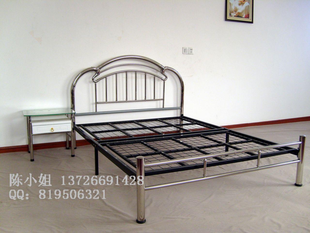 专业生产家用不锈钢床,精品不锈钢床订做